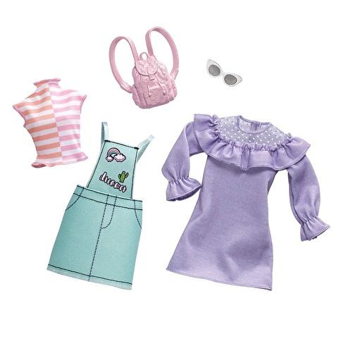 Barbie Barbienin Kıyafetleri İkili Paket Renkli
